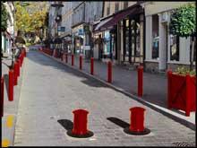 Amex18 panneaux de signalisation route chantier for Protector parking carrefour